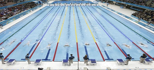 Swimming pool that helps reaffirm the point made about a swimming pool of candidates mentioned above in the text. - Opposite of a talent shortage